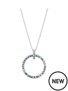 simply-silver-simply-silver-swarovski-open-pendant-necklace