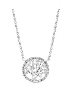 simply-silver-simply-silver-cubic-zirconia-tree-of-life-pendant-necklace