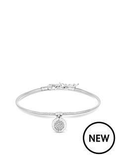 simply-silver-simply-silver-cubic-zirconia-pave-charm-snake-bracelet