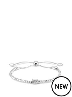 simply-silver-simply-silver-cubic-zirconia-pave-beaded-toggle-bracelet