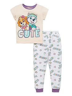 paw-patrol-girls-cutenbsptee-and-long-bottom-pjs-pink