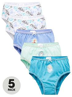 disney-frozen-girlsnbsp5-pack-knickers-multi