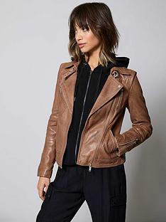 mint-velvet-zip-leather-biker-jacket-tan