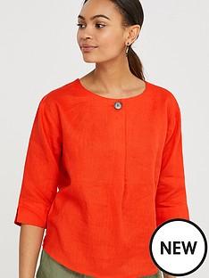 monsoon-scarlet-linen-t-shirt