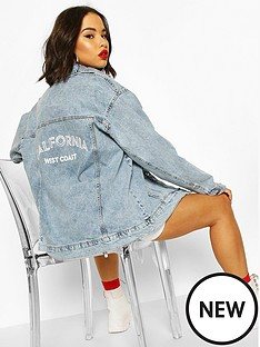 boohoo-festival-slogan-oversized-denim-jacket-blue