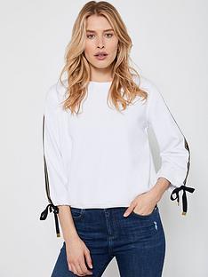 mint-velvet-contrast-tie-sleeve-sweatshirt-white