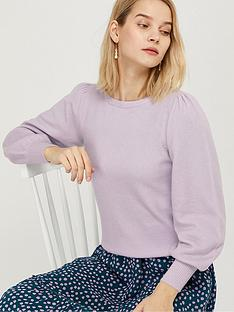 monsoon-blouson-sleeve-compact-jumper-lilac