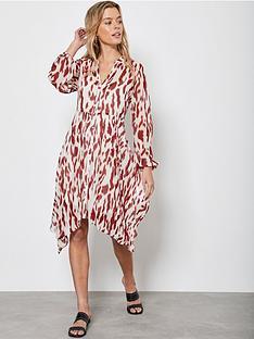 mint-velvet-pia-print-trapeze-mini-dress