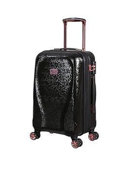 it-luggage-sparkle-black-cabin-suitcase