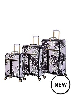 it-luggage-botany-oriental-bloom-luggage-set