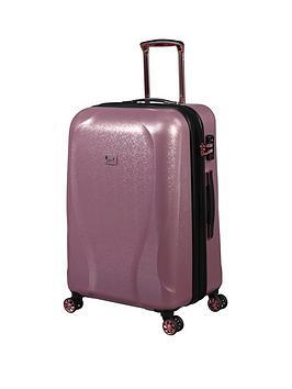 it-luggage-sparkle-pink-medium-suitcase