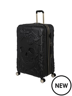 it-luggage-skulls-black-large-suitcase