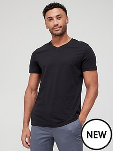 very-man-essentials-v-neck-t-shirt-black