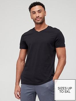 very-man-essentials-v-neck-t-shirt-black