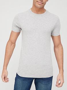very-man-muscle-fit-slub-t-shirt-grey-marl