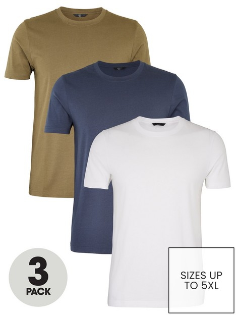 very-man-essentials-3-pack-crew-necknbspt-shirt-multi