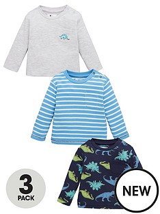 v-by-very-baby-boy-dinosaur-3-pack-jersey-tops-multi