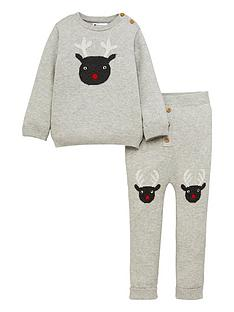 mini-v-by-very-baby-2-piecenbspchristmas-reindeer-knitted-set-grey-marl