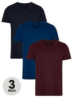 prod1090033953: EssentialsV Neck T-Shirt (3 Pack) - Multi