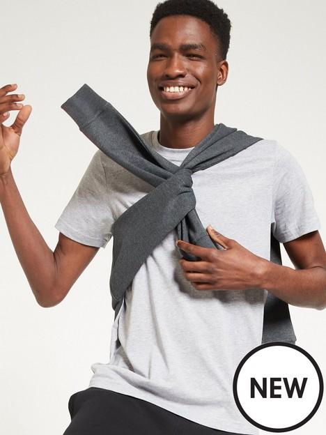 very-man-essentials-crew-necknbspt-shirt-grey-marl