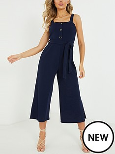 quiz-culotte-jumpsuit-navy