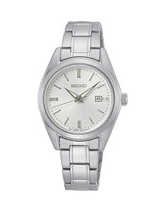 seiko-seiko-ladies-stainless-steel-white-dial-classic-bracelet-watch