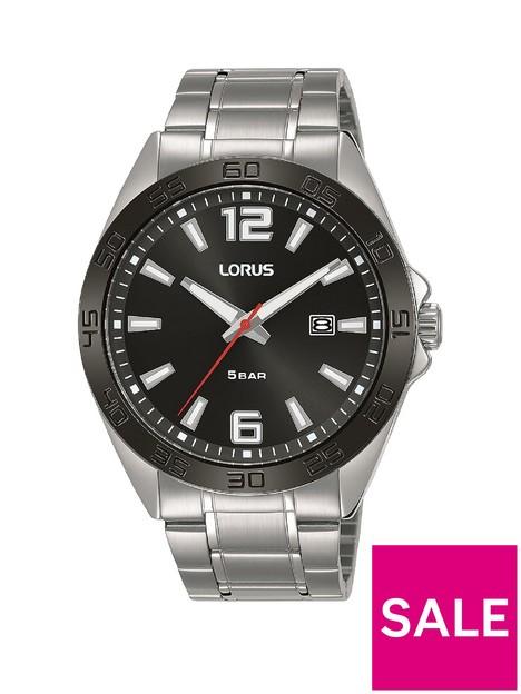 lorus-sport-stainless-steel-black-dial-mensnbspwatch