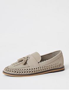 river-island-boys-woven-tassel-loafers-grey