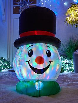 festive-100nbspcm-inflatable-snowman-head-with-light-show-outdoor-christmas-decoration