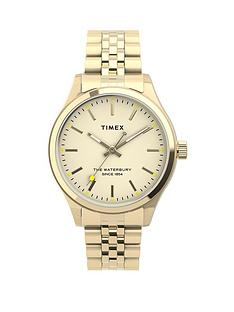 timex-timex-waterbury-traditional-neaon-34mm-gold-bracelet-watch