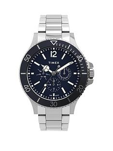 timex-timex-harborside-multifunction-43mm-stainless-steel-blue-dial-bracelet-watch