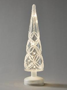 festive-35cm-battery-operated-lit-clear-glass-tree