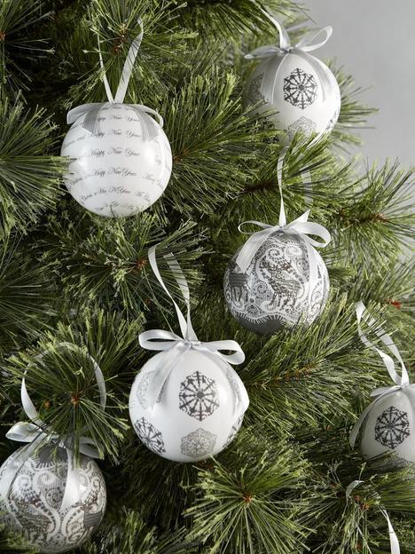festive-grey-decoupage-baubles