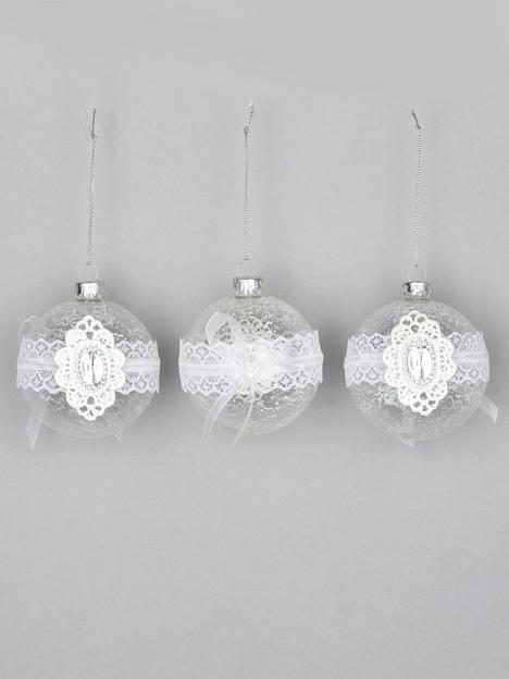 festive-8nbspcm-clear-christmas-tree-bauble-withnbsplace-and-gem-detail