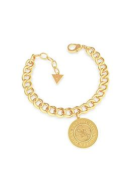 guess-coin-chain-bracelet