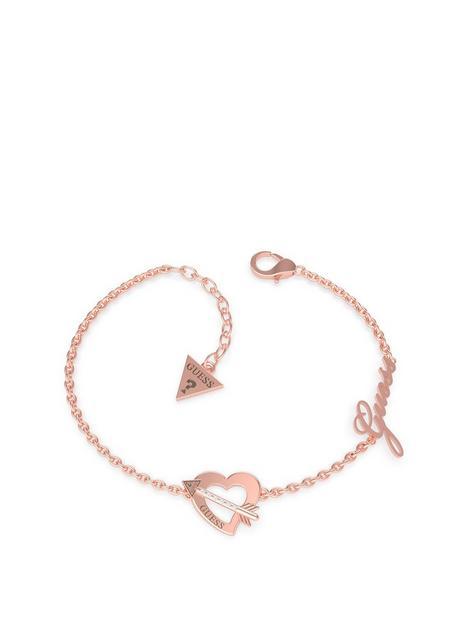 guess-heart-and-arrow-bracelet