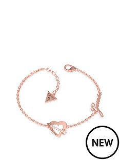 guess-heart-and-arrow-bracelet