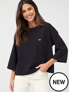 superdry-coded-pocket-top-black