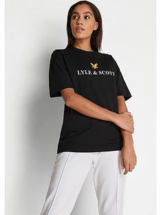 lyle-scott-archive-t-shirt-black