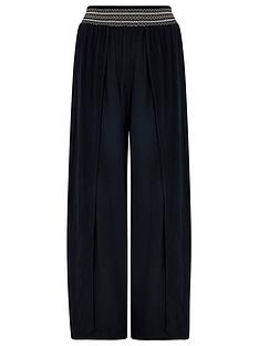 accessorize-smocked-beach-trousers-black