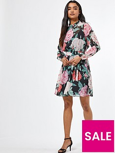 dorothy-perkins-dorothy-perkins-petite-valentine-mandy-floral-mini-dress-multi