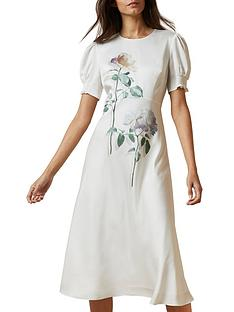 ted-baker-fleu-midinbspdress-multi