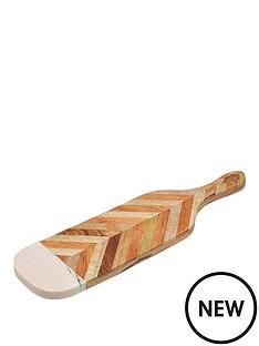 kitchencraft-pink-marble-chevron-paddle
