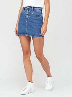 calvin-klein-jeans-high-rise-mini-skirt-blue