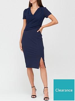 v-by-very-drape-formal-midi-dress-navy
