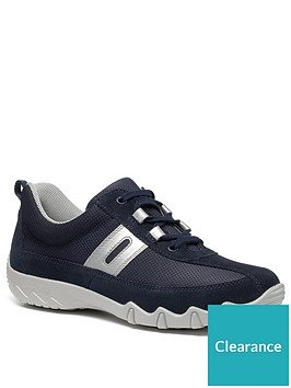 hotter-leanne-lace-up-trainers-navy