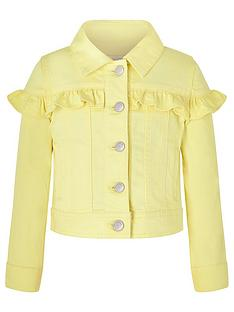 monsoon-girls-layla-denim-jacket-lemon