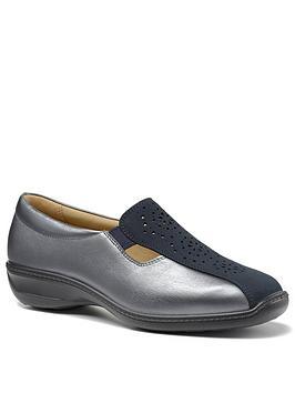 hotter-calypso-slip-on-flat-shoes-navy-metallic