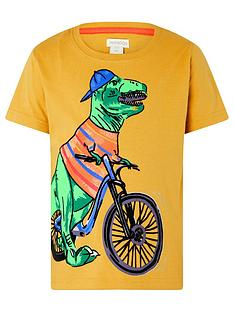 monsoon-boys-rex-dino-tee-mustard