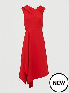 v-by-very-mila-draped-skirt-prom-dress-red